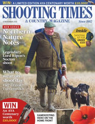 Shooting Times & Country Magazine 11th November 2015