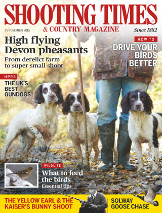 Shooting Times & Country Magazine 25th November 2015