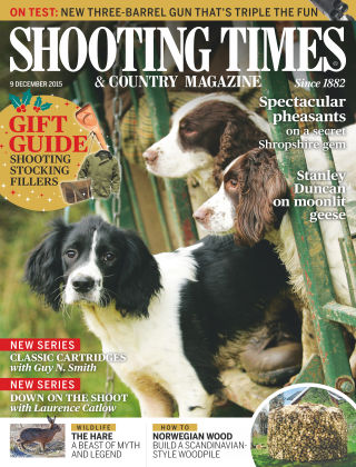 Shooting Times & Country Magazine 10th December 2015