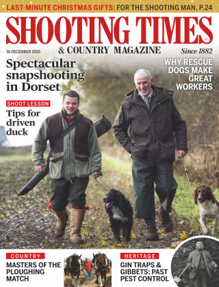 Shooting Times & Country Magazine 17th December 2015