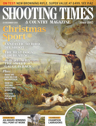 Shooting Times & Country Magazine 23rd December 2015