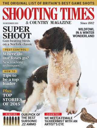Shooting Times & Country Magazine 30th December 2015
