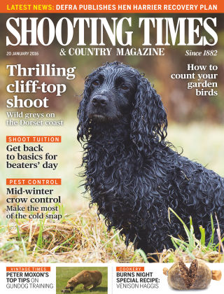 Shooting Times & Country Magazine 13th January 2016
