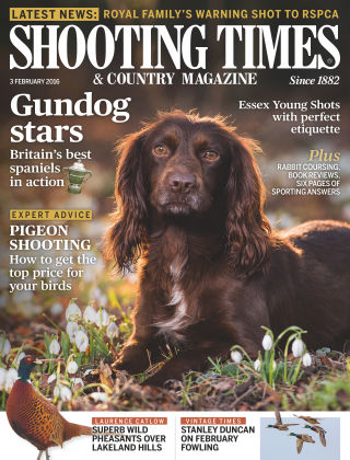 Shooting Times & Country Magazine 27th January 2016