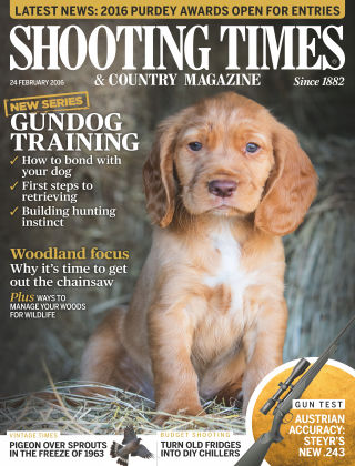 Shooting Times & Country Magazine 17th February 2016