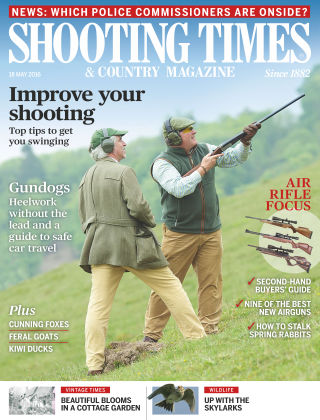 Shooting Times & Country Magazine 18th May 2016