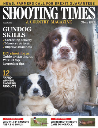 Shooting Times & Country Magazine 6th July 2016