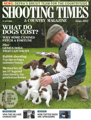 Shooting Times & Country Magazine 27th July 2016