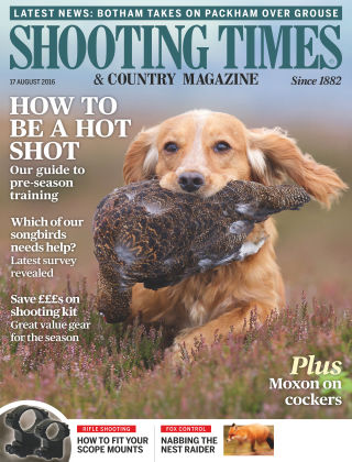 Shooting Times & Country Magazine 17th August 2016