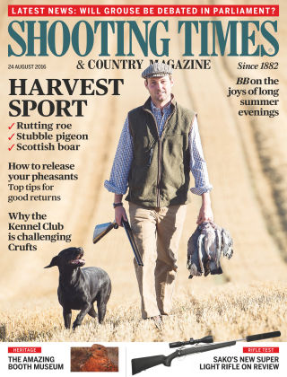 Shooting Times & Country Magazine 24th August 2016
