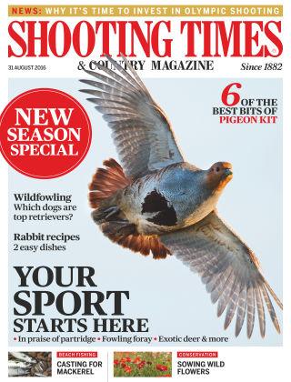Shooting Times & Country Magazine 31st August 2016