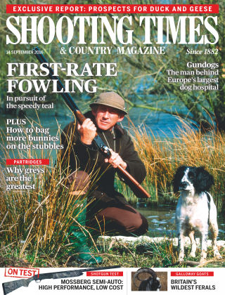 Shooting Times & Country Magazine 14th September 2016