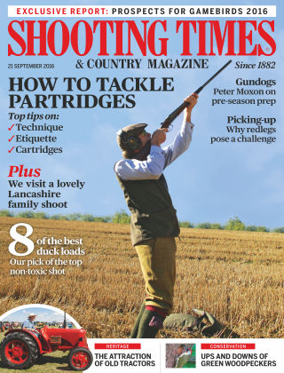 Shooting Times & Country Magazine 21st September 2016
