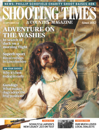 Shooting Times & Country Magazine 28th September 2016