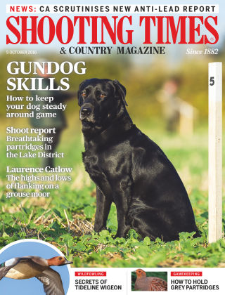 Shooting Times & Country Magazine 5th October 2016