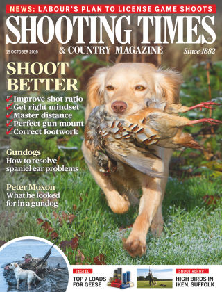 Shooting Times & Country Magazine 19th October 2016