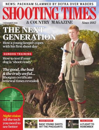 Shooting Times & Country Magazine 2nd November 2016