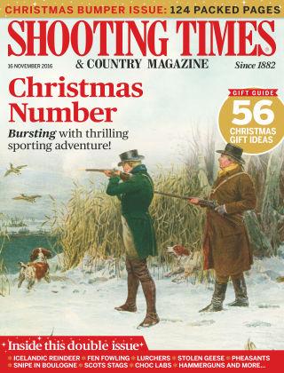 Shooting Times & Country Magazine 16th November 2016