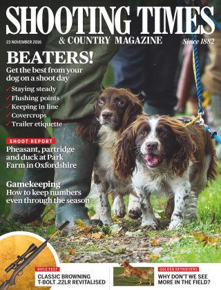 Shooting Times & Country Magazine 23rd November 2016