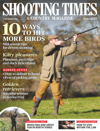 Shooting Times & Country Magazine 7th December 2016