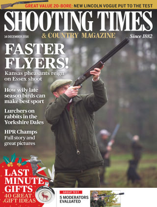 Shooting Times & Country Magazine 14th December 2016
