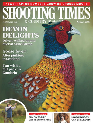 Shooting Times & Country Magazine 29th December 2016