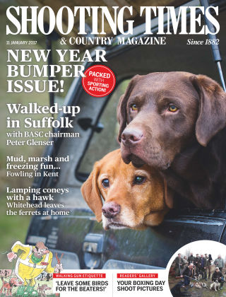 Shooting Times & Country Magazine 11th January 2017