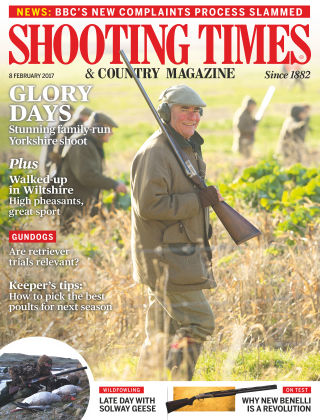 Shooting Times & Country Magazine 8th February 2017