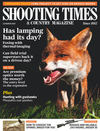 Shooting Times & Country Magazine 22nd March 2017