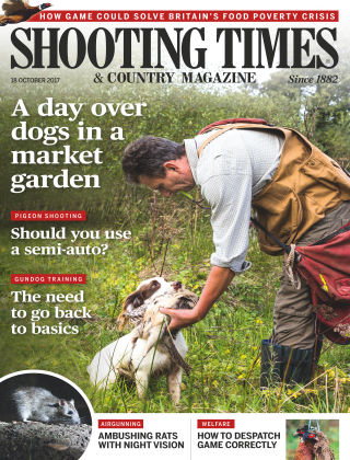 Shooting Times & Country Magazine 18th October 2017