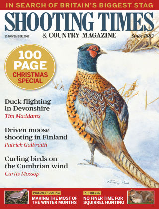 Shooting Times & Country Magazine 16th November 2017
