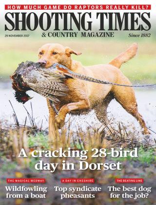 Shooting Times & Country Magazine 29th November 2017