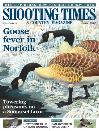 Shooting Times & Country Magazine 20th December 2017