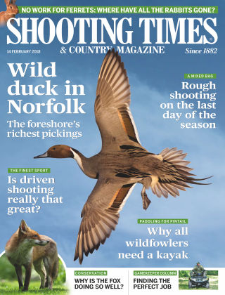 Shooting Times & Country Magazine 12th February 2018