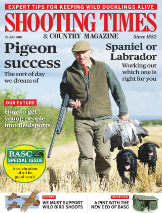 Shooting Times & Country Magazine 25th August 2018