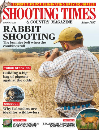 Shooting Times & Country Magazine 15th August 2018