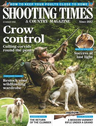 Shooting Times & Country Magazine 22nd August 2018