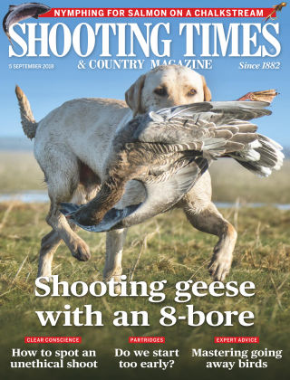 Shooting Times & Country Magazine 5th September 2018