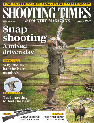 Shooting Times & Country Magazine 24th October 2018