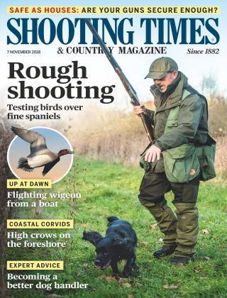 Shooting Times & Country Magazine Nov 7 2018