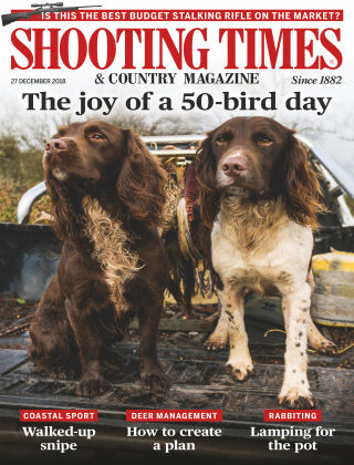Shooting Times & Country Magazine Dec 26 2018