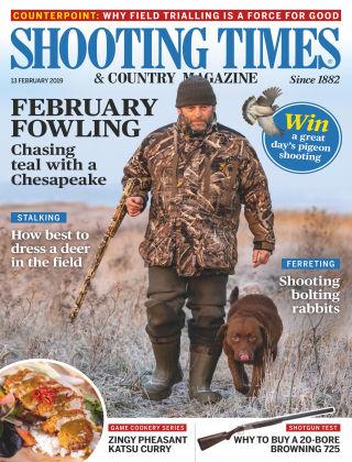 Shooting Times & Country Magazine Feb 13 2019
