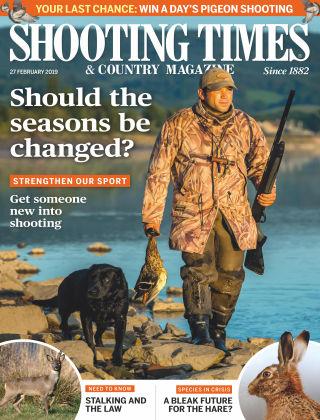 Shooting Times & Country Magazine Feb 27 2019