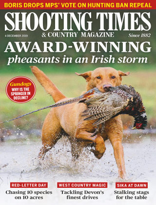 Shooting Times & Country Magazine Dec 4 2019