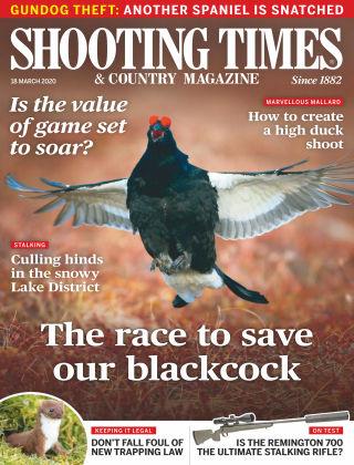 Shooting Times & Country Magazine Mar 18 2020