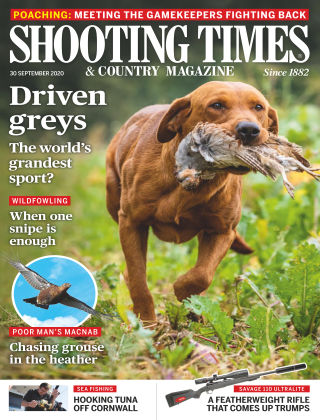 Shooting Times & Country Magazine 30th September 2020
