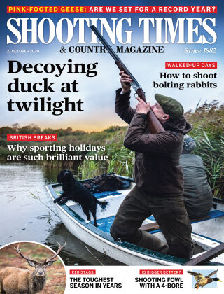 Shooting Times & Country Magazine 21st October 2020