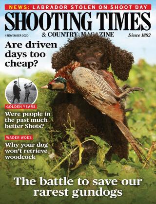 Shooting Times & Country Magazine 4th November 2020