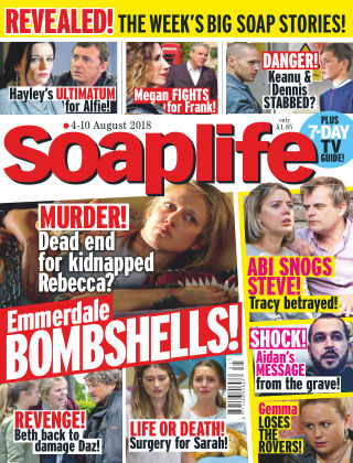 Soaplife 4th August 2018