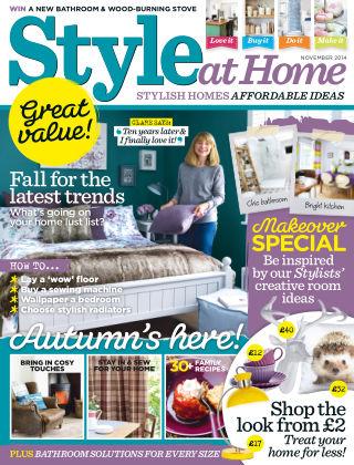 Style at Home November 2014
